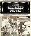 """Original Comic Art:Complete Story, John Severin (as Nireves) Cracked #178 """"The Cracked Movie""""Near Complete Story Original Art Group of 6 (Major Publ... (Total:6 Items)"""
