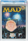 Magazines:Mad, MAD #34 (EC, 1957) CGC NM+ 9.6 White pages....