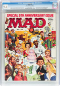 Magazines:Mad, MAD #35 (EC, 1957) CGC NM+ 9.6 Off-white to white pages....