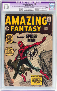 Amazing Fantasy #15 (Marvel, 1962) CGC Apparent FR 1.0 Cream to off-white pages