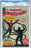Silver Age (1956-1969):Superhero, The Amazing Spider-Man #3 (Marvel, 1963) CGC FN 6.0 Off-white pages....
