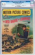 Golden Age (1938-1955):Miscellaneous, Motion Picture Comics #105 (Fawcett Publications, 1951) CGC VF+ 8.5 Off-white to white pages....