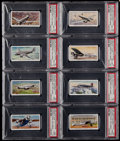 Non-Sport Cards:Sets, 1936 John Player & Sons International Air Liners (50). ...