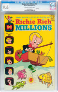 Bronze Age (1970-1979):Cartoon Character, Richie Rich Millions #43 (Harvey, 1970) CGC NM+ 9.6 Off-white towhite pages....