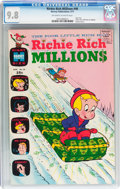 Bronze Age (1970-1979):Cartoon Character, Richie Rich Millions #46 (Harvey, 1971) CGC NM/MT 9.8 Off-white towhite pages....