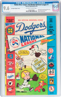 Bronze Age (1970-1979):Cartoon Character, Richie Rich, Casper and Wendy National League #1 Los AngelesDodgers Variant (Harvey, 1976) CGC NM+ 9.6 Off-white to whitepag...