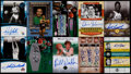 Basketball Cards:Lots, Boston Celtics Signed Basketball Card Collection (10)....