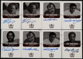 Football Cards:Lots, 1999 Upper Deck Century Legends Football Epic Signatures Collection (8)....
