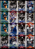 Football Cards:Lots, 2005 Upper Deck Legends Legendary Signatures Collection (16). ...