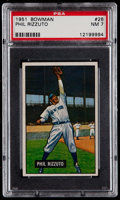 Baseball Cards:Singles (1950-1959), 1951 Bowman Phil Rizzuto #26 PSA NM 7....