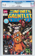 Modern Age (1980-Present):Superhero, The Infinity Gauntlet #1 (Marvel, 1991) CGC NM/MT 9.8 Whitepages....