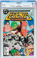 Modern Age (1980-Present):Superhero, Legends #3 (DC, 1987) CGC NM+ 9.6 White pages....