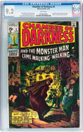 Bronze Age (1970-1979):Horror, Chamber of Darkness #4 (Marvel, 1970) CGC NM- 9.2 White pages....