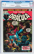 Bronze Age (1970-1979):Horror, Tomb of Dracula #13 (Marvel, 1973) CGC NM- 9.2 Off-white pages....