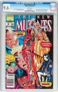 Modern Age (1980-Present):Superhero, The New Mutants #98 (Marvel, 1991) CGC NM+ 9.6 White pages....