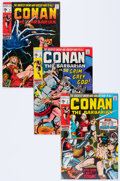 Bronze Age (1970-1979):Adventure, Conan the Barbarian Short Box Group (Marvel, 1970-86) Condition: Average FN....