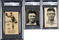 Baseball Collectibles:Others, 1950's Tris Speaker Signed Magazine Photos Lot of 3. ...
