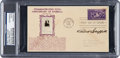 Baseball Collectibles:Others, 1939 Clark Griffith Signed Baseball Centennial First Day Cover. ...