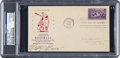 Baseball Collectibles:Others, 1939 Lefty Grove Signed Baseball Centennial First Day Cover. ...
