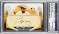 Autographs:Sports Cards, 2004 Upper Deck SP Legendary Cuts Lou Gehrig #GE Cut Autograph Card Numbered 2 of 7 PSA/DNA Authentic. ...