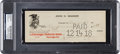 Baseball Collectibles:Others, 1918 Honus Wagner Signed Check....