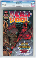 Modern Age (1980-Present):Superhero, Deadpool #1 (Marvel, 1997) CGC NM/MT 9.8 White pages....