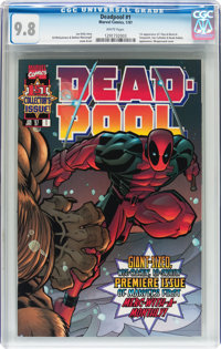 Deadpool #1 (Marvel, 1997) CGC NM/MT 9.8 White pages