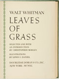 Books:Literature 1900-up, Walt Whitman. Lewis C. Daniel, illustrator. Leaves of Grass. New York: Doubleday, Doran & Co., 1940. . ...