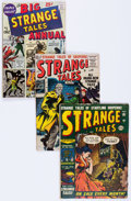 Golden Age (1938-1955):Science Fiction, Strange Tales Group of 7 (Atlas/Marvel, 1955-60) Condition: AverageGD.... (Total: 7 Comic Books)
