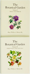 Books:Natural History Books & Prints, [Botany]. Roger Phillips and Martyn Rix. The Botanical Garden, Vols. I & II. [Buffalo:] Firefly Books, [2010]. ... (Total: 2 Items)