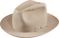 Political:Presidential Relics, Dwight D. Eisenhower: Personally-owned Stetson Hat....