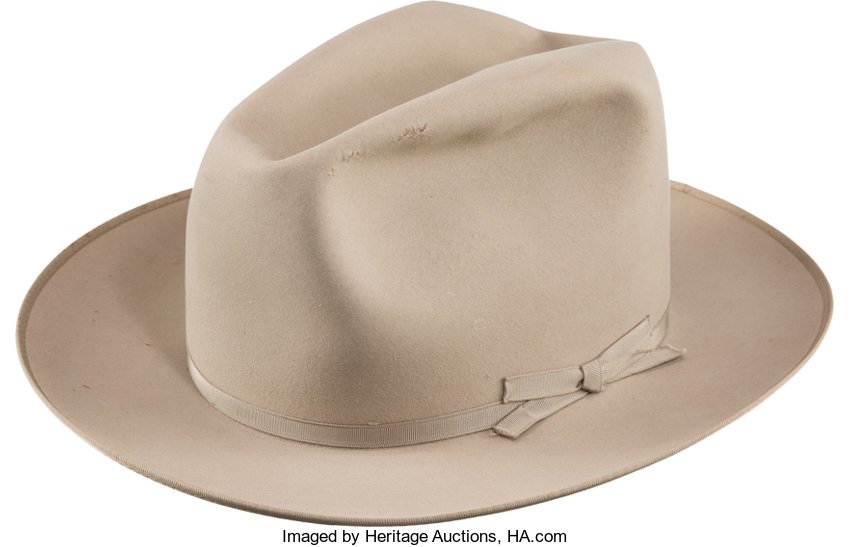 febfbc04da9 Dwight D. Eisenhower  Personally-owned Stetson Hat.... Political ...