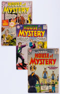 Silver Age (1956-1969):Horror, House of Mystery Group of 23 (DC, 1956-67) Condition: AverageVG.... (Total: 23 Comic Books)