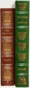 Books:Fine Bindings & Library Sets, [Fine Binding & Library Sets]. [Philosophy]. Pair of Titles. Norwalk: The Easton Press, [1979 and 1980]. ... (Total: 2 Items)
