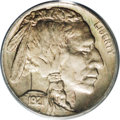 Buffalo Nickels: , 1921-S 5C MS64 PCGS. Rose-red, gold, and lime hues endow thisbeautiful branch mint near-Gem. The strike is sharp for an S-...