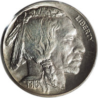 1916 5C PR67 PCGS. When the rookie collector thinks of matte proof coinage, the general picture in the mind is a dull, u...