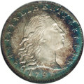 Early Half Dimes: , 1795 H10C MS65 ★ NGC. V-4, LM-10, R.3. Later die state. Similar tothe die state seen on the ...