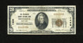 National Bank Notes:Maryland, Frederick, MD - $20 1929 Ty. 1 The Frederick County NB Ch. # 1449.W.D. Zimmerman and A.L. McCardell voluntarily liquida...