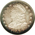 Bust Dimes: , 1822 10C MS64 ★ NGC. JR-1, the only variety, R.4. The most elusivedate in the Capped Bust di...
