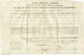 Autographs:U.S. Presidents, John Quincy Adams As President Partially Printed DocumentSigned,...