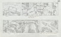 "Original Comic Art:Miscellaneous, Jack Kirby Fantastic Four ""Blastaar the Living Bomb Burst""Storyboard #63 Original Animation Art (DePatie-Freleng, 1978)...."