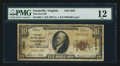 National Bank Notes:Virginia, Farmville, VA - $10 1929 Ty. 1 The First NB Ch. # 5683. ...