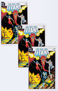 Modern Age (1980-Present):Superhero, New Teen Titans V2#1 Group of 104 (DC, 1984) Condition: AverageNM-.... (Total: 104 Comic Books)