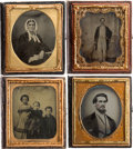 Photography:Ambrotypes, Sixth Plate Ambrotypes.... (Total: 24 Items)