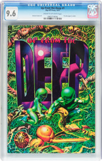 Up From the Deep #1 (Rip Off Press, 1971) CGC NM+ 9.6 Cream to off-white pages