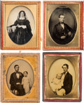 Photography:Studio Portraits, Assorted Ambrotypes [10] and Tintypes [2].... (Total: 11 Items)