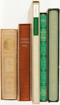 Books:Literature Pre-1900, [The Limited Editions Club]. [Heritage Press]. Group of Five Books,Two of Which are SIGNED/LIMITED. Various publishers and ... (Total:5 Items)