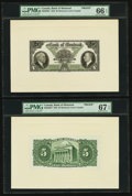 Canadian Currency: , Montreal, PQ- Bank of Montreal $5 January 2, 1935 Ch. # 505-60-02PFace and Back Proofs. ... (Total: 4 items)