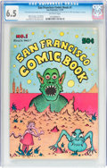 Bronze Age (1970-1979):Alternative/Underground, San Francisco Comic Book #1 (Print Mint, 1970) CGC FN+ 6.5 Off-white pages....