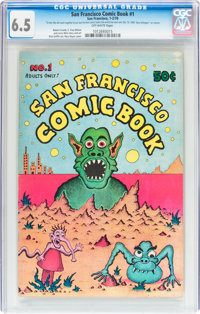 San Francisco Comic Book #1 (Print Mint, 1970) CGC FN+ 6.5 Off-white pages